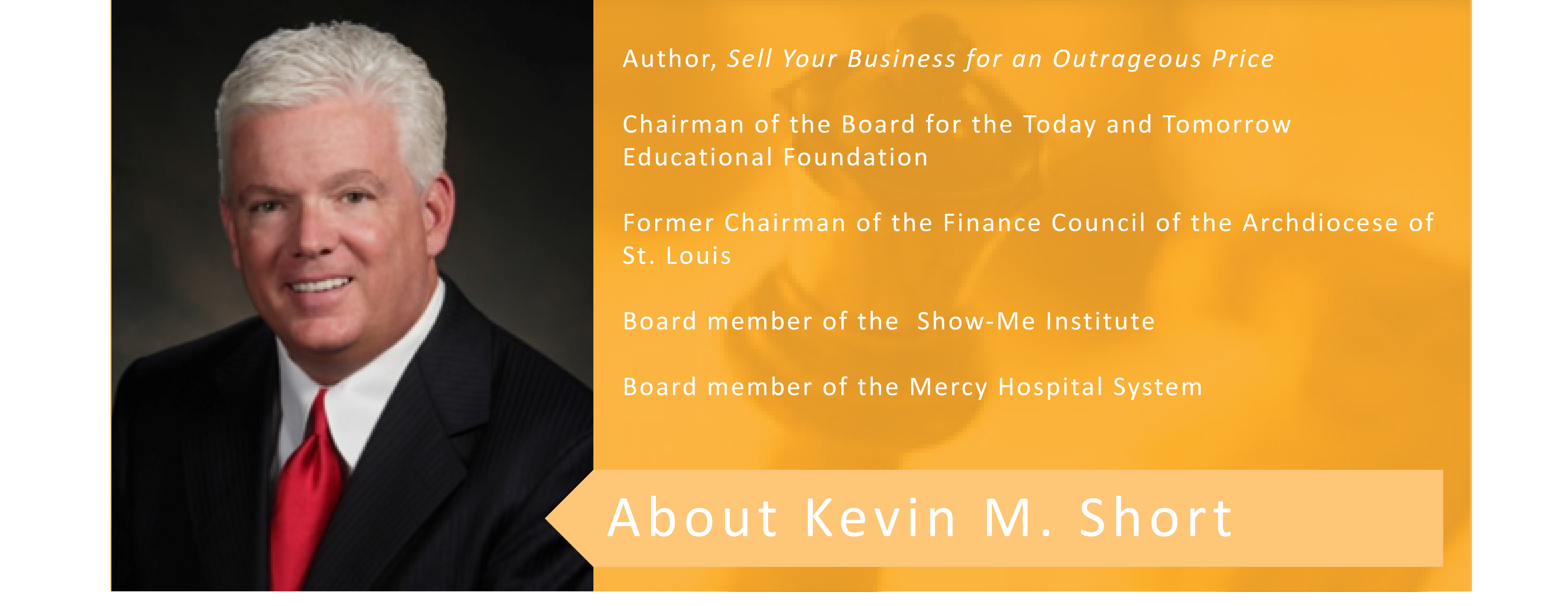 about Kevin M Short